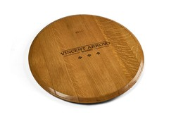 WINE BARREL LAZY SUSAN Image